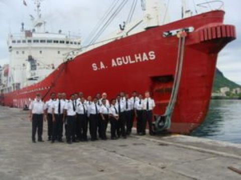All aboard: The SA Agulhas has sailed from Port Louis, Mauritius and is expected to reach South Africa on Friday, February 16, 2018.