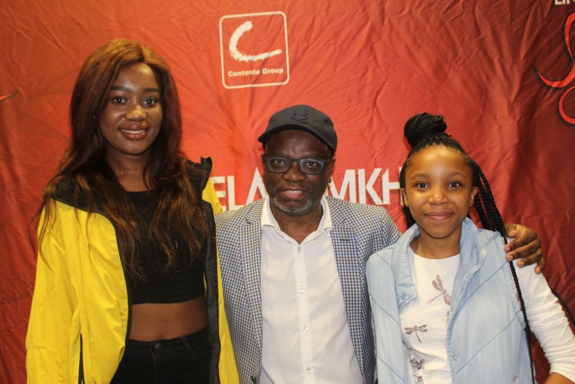 Welile Gumede with Lindelani Mkhize and Itumeleng Silela