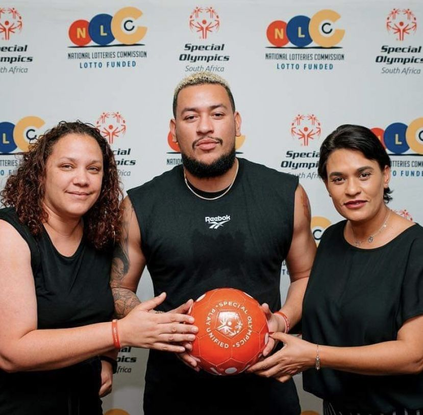 AKA gets behinds special Olympics SA National Team