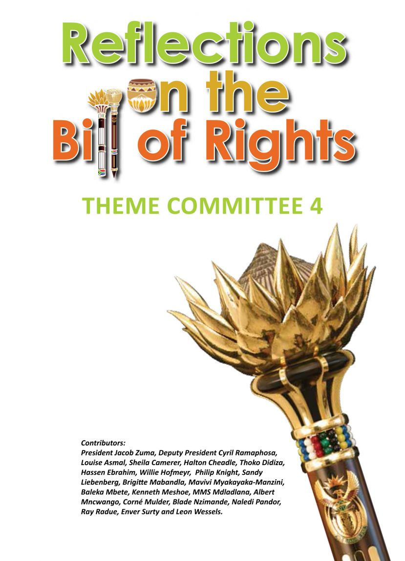 Launched in Parliament this week celebrating 20 years of the South African constitution
