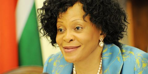 Minister of Water and Sanitation,Nomvula Mokonyane