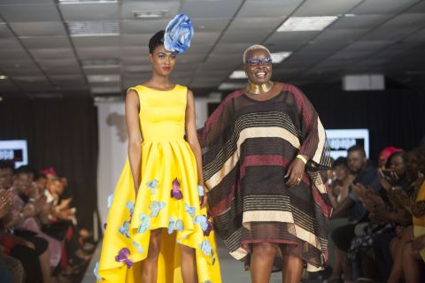 Santa Anzo reveils latest collection at the Africa Fashion Exchange