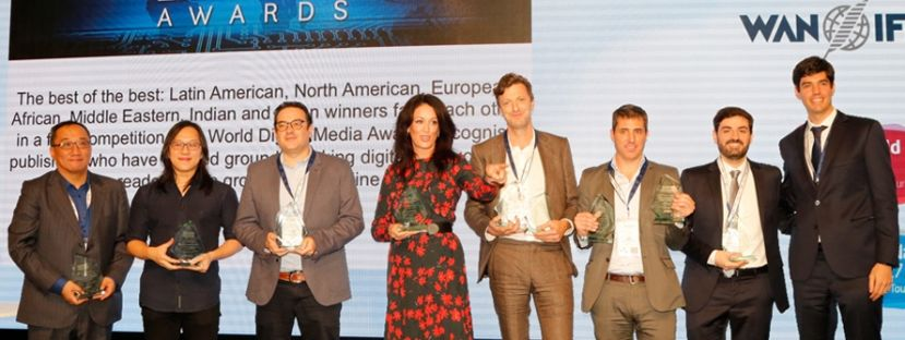 World Digital Media Awards winners
