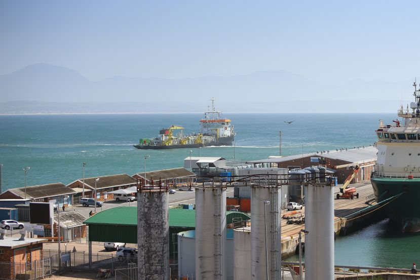 Dredging campaign a success at Port of Mossel Bay.