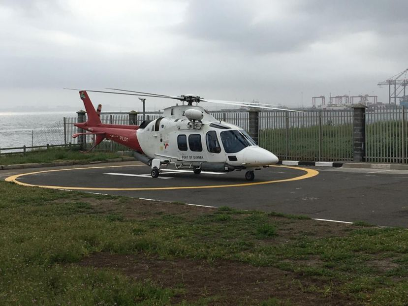 TNPA tested a helicopter service to transfer marine pilots at the Port of Cape Town recently and will now be moving forward with plans to offer the service.